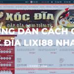 Hướng dẫn cách chơi xóc đĩa Online - Lixi88bet Banner Logo